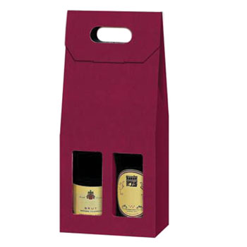 Two Bottle Fluted Gift Box