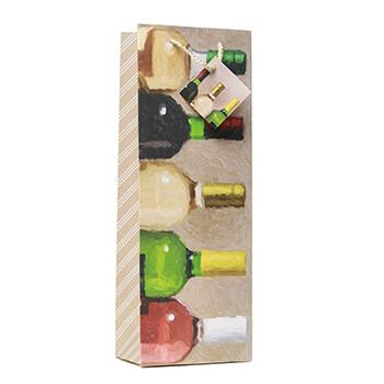 Bottles Wine Gift Bag