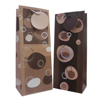 Polished Stones Wine Gift Bags
