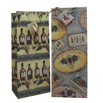 Salute  Wine Gift Bag