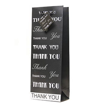 Thank You Wine Gift Bag