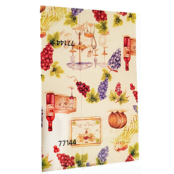 Wine Themed Gift Wrapping Paper
